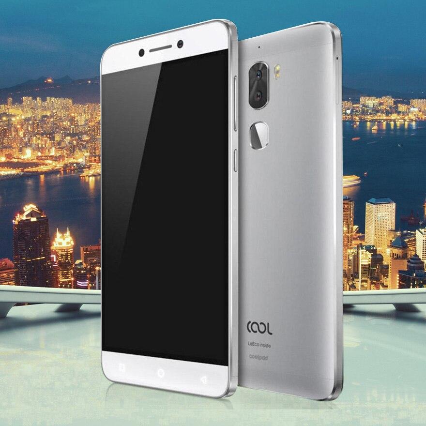 D'origine Letv Frais 1 Double Leeco Coolpad Cool1 Snapdragon 652 Mobile Téléphone 4 GB RAM 64 GB 5.5 FHD 13MP Double Caméras D'empreintes Digitales ID