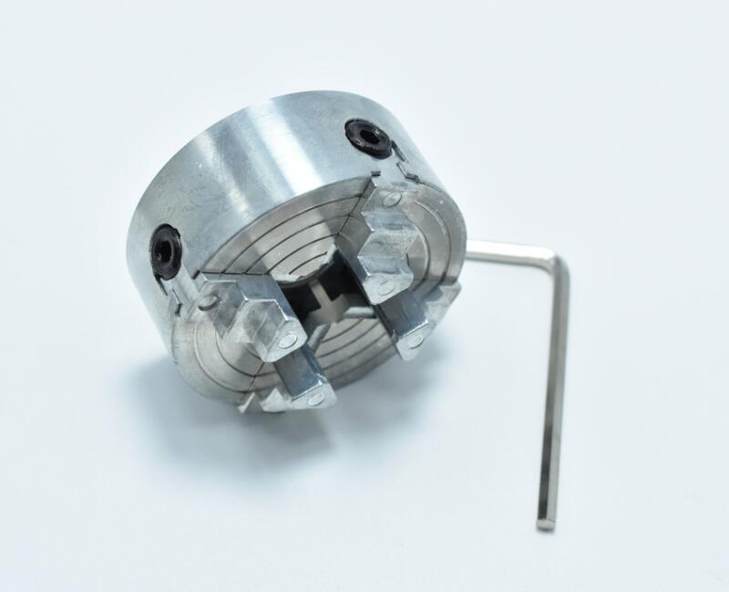 Four 4 Jaw Chuck Z011A For Metal Mini Lathe M12x1mm Threaded Back 1.8~56mm/12~65mm Mini Collet Lathe Accessory