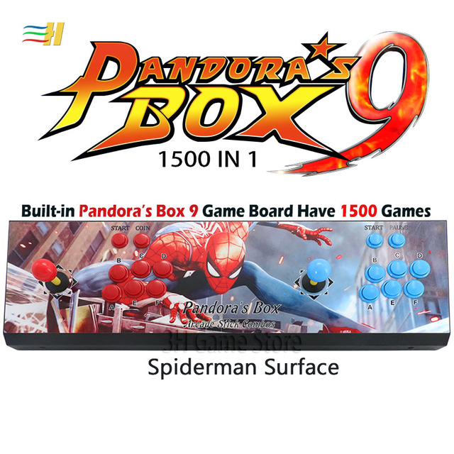 New Pandora Box 9 1500 in 1 Arcade Surface - HDMI / VGA / USB 4