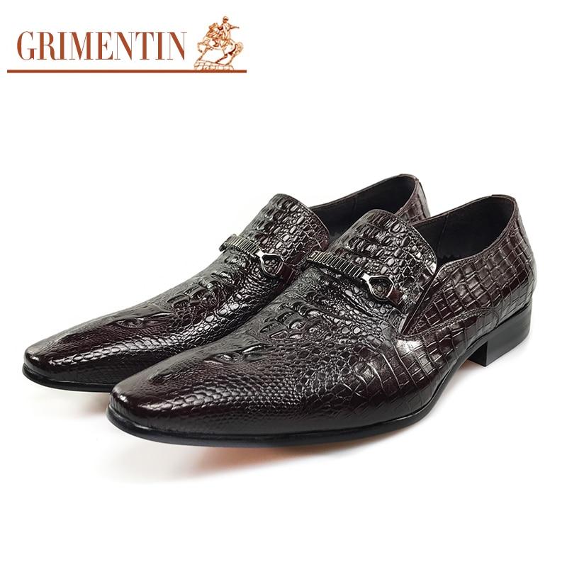 Dark Brown Dress Shoes For Men