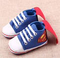 Superman Toddler Baby Shoes for Boys Girls Fashion Batman Cartoon Infants Shoes First Walkers