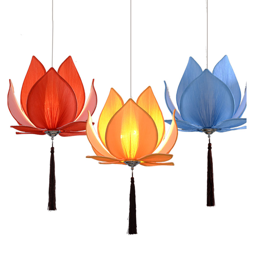 Modern E27 led bulb Lotus Shape Chandelier Pendant Ceiling Lamp Shade Hanging Light Lampshade DIY Home Living Room Bedroom Decor modern e27 led bulb lotus shape chandelier pendant ceiling lamp shade hanging light lampshade diy home living room bedroom decor
