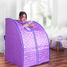 Portable Sauna For Cabin SPA Slimming Negative Ion Detox Therapy  Personal Fir Infrared Room Folding Chair