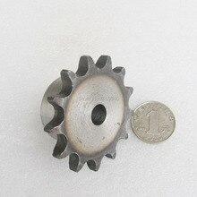 """08B 13T 13 зубьев шаг 12,7 мм 1/"""" отверстие не больше 12,3 мм промышленная Трансмиссия привод шестерни одиночные звездочки механические части"""