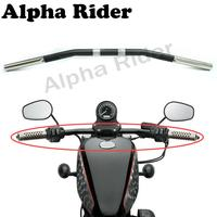 Motorcycle Retro Style Drag Bar Curved for Harley Sportster XL 1200 Iron 883 48 72 Roadster Nightster 1