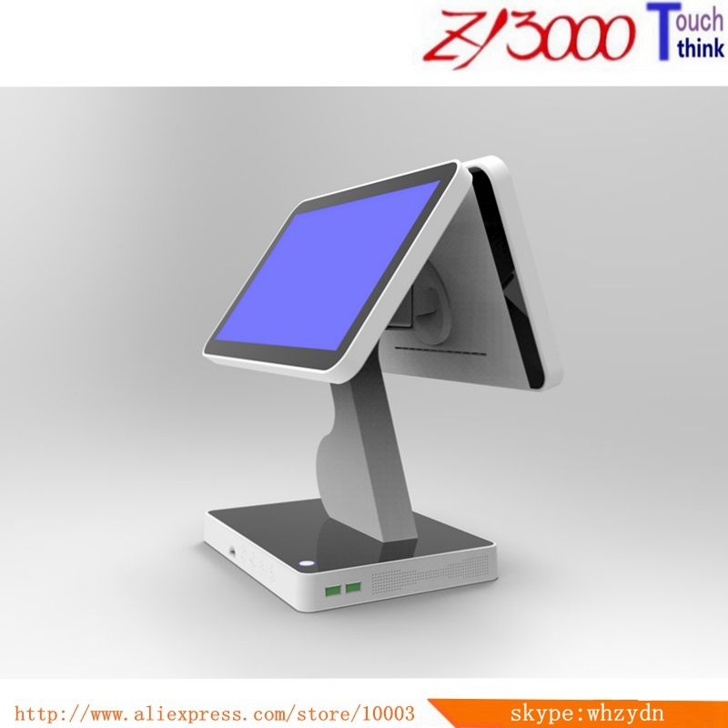 New Stock 15.6 Inch Double Screen Pos System