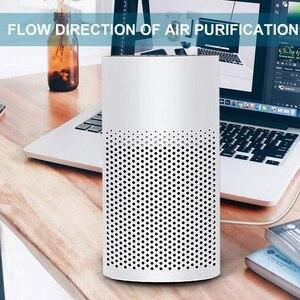 Image 4 - Hot 3 In 1 Mini Luftreiniger Mit Filter Tragbare Ruhig Mini Luftreiniger Persönliche Desktop Ionisator Luft Reiniger, für Zu Hause, Arbeit,