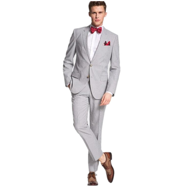 Us 100 0 Neueste Trends Mens Hochzeit Anzuge Fashion Reine Farbe Der Brautigam Anzuge Smoking Zwei Taste Zweiteilige Jacke Hosen In Neueste