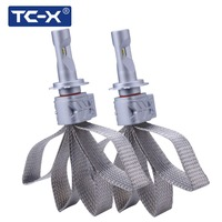 TCX H7 LED Headlight Replacement Bulbs Low Beam High Beam For Car Driving Lighting Conversion Kit