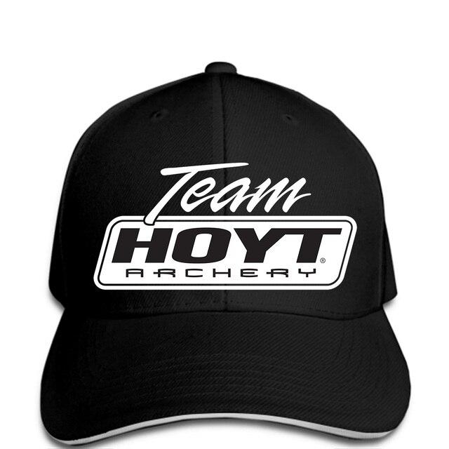 3876fde0066 Team Hoyt Archery Block Bow Hunting Black Baseball cap Mens Casual ...
