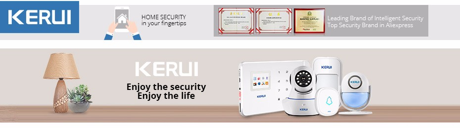 Home Security PIR MP Alert Infrared Sensor Anti-theft Motion Detector Alarm Monitor Wireless Alarm system+2 remote controller 1