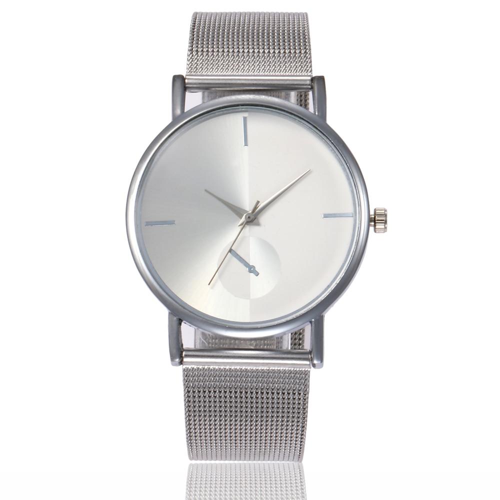 Couple Glass Leather Skin Strap Womens Watch Mens Watch Quartz Lovers Watches Montre Femme 2019 Ladies Watch Dames Horloges Watches