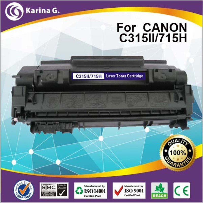 high yield 7000page yield laser toner unit CRG315II CRG715II for HP LaserJet P2014 P2015 M2727 for Canon LBP-3310 LBP-3370