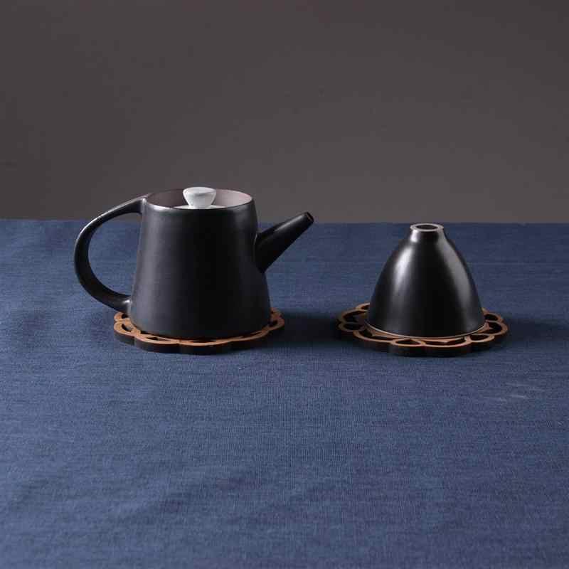 ROSENICE 6 шт. милый деревенский Винтаж подставки бамбуковые чашки колодки Кофе напиток чашка мат Украшение стола для дома Кухня кафе