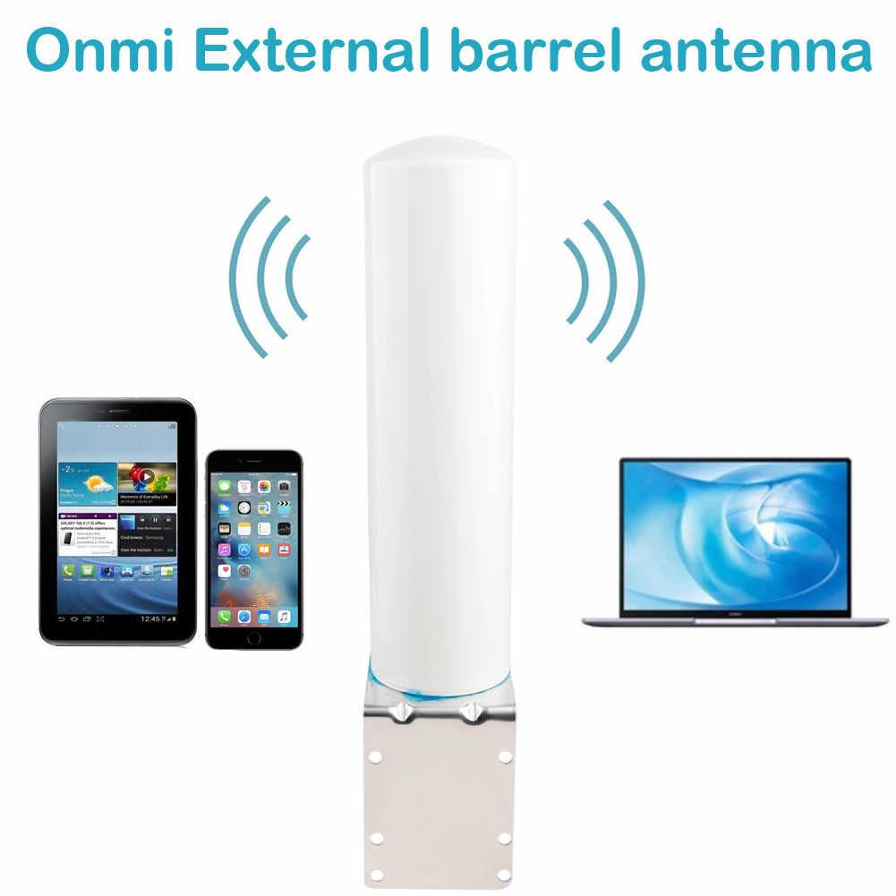 جديد 4g هوائي خارجي 698-2700MHz Onmi خارجي برميل هوائي مع N أنثى ل GSM W-CDMA 2g 3g هاتف محمول مكرر إشارة