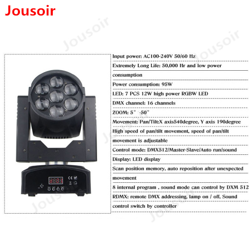 LED-Mini-Moving-Head-Light-7Pcs-Lamp-Beads-12W-High-Power-RGBW-DJ-DMX-Stage-Light