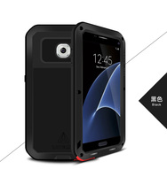 LOVE MEI Metal Aluminum Case For Samsung Galaxy S7 Cover Powerful Armor Shockproof Life Waterproof Case For Galaxy S7 G9300 G930