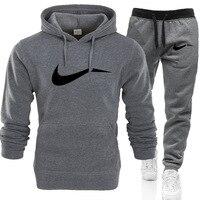 New Fashion A DI Graffiti Hoodie Sweatshirt Men/Women Hoodies Sweatshirts+Sweatpants Suits Autumn Winter Fleece Hooded Pullover