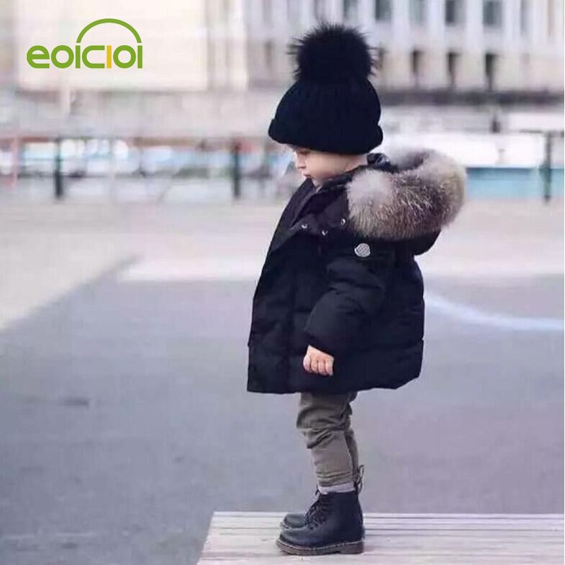 Winter Jacket Coat Outerwear Hooded Warm Autumn Baby-Boys Fashion Children for Kids 2-7-Year