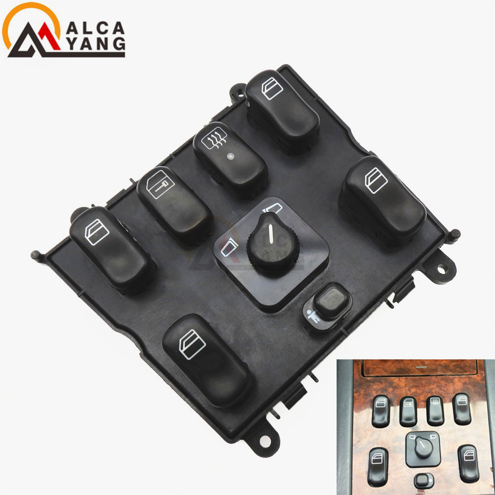 Power Window Switch for Mercedes-Benz ML320 W163 Switch A 1638206610 ,163 820 6610 power window lifter switch for mercedes benz actros mpii 9438200097