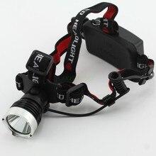 2016 New Promotion 2000 Lumens CREE XML XM-L T6 LED Headlamp Headlight 3 Mode Adjustable Zoomable LED Head Light Lamp
