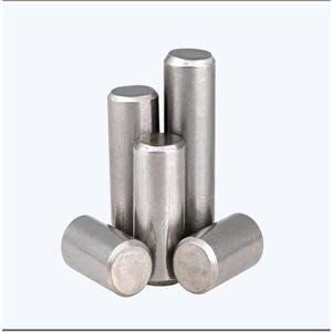 200 шт. M2.5 штифт GB119 304 цилиндрический штифт из нержавеющей стали с фиксированным местоположением парализованный штифт твердого позициониров...