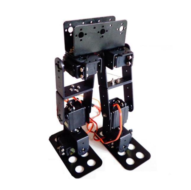 6DOF Biped Servo support bras marche humanoïde Robot accessoires (pas inclure le volant en métal)