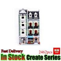 2462Pcs Lepin 15008 City Street Creator Green Grocer Model Kits Anime Toy Figures Blocks Building Bricks