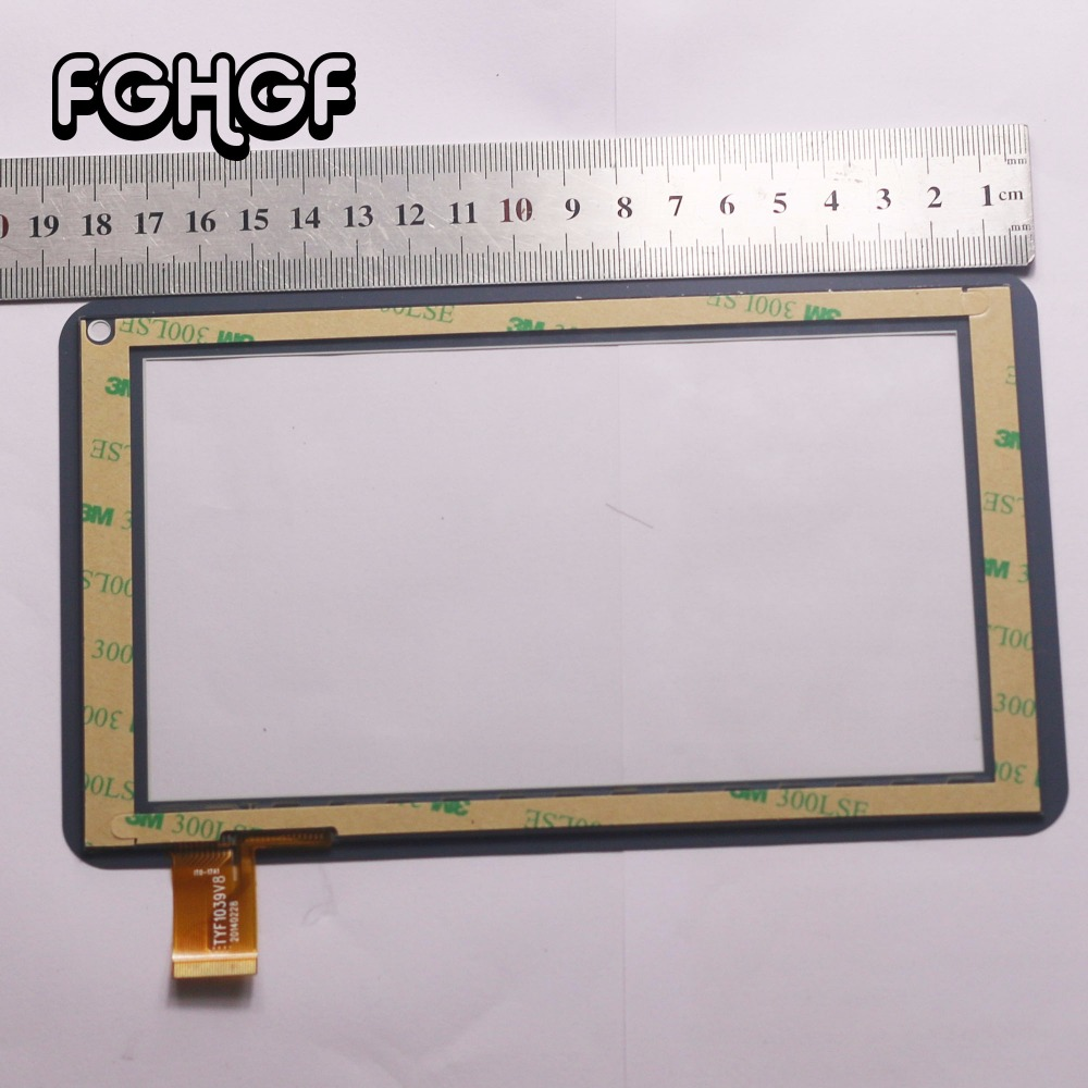 FGHGF New touch screen Digitizer 7 inch Explay Fog Tablet Touch panel Glass Sensor Replacement Free Shipping new touch screen 7 inch explay surfer 7 32 3g tablet touch panel digitizer glass sensor replacement free shipping