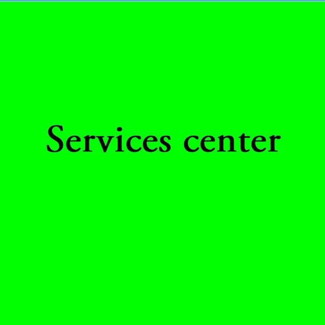 Services center