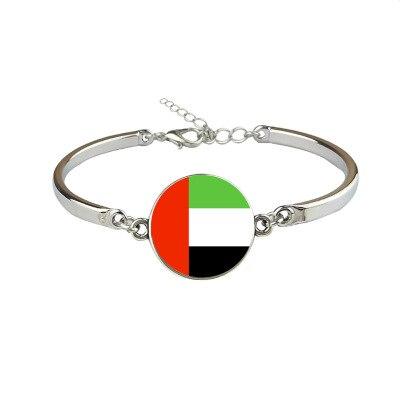 New United Arab Emirates Flag Bangles Country United Arab Emirates Flag Bracelets Jewellery