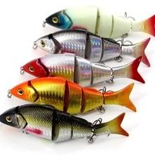 12 см 21 г 5 секций поддельная Рыба для приманки подходит для заброса на большие расстояния для ловли большой рыбы