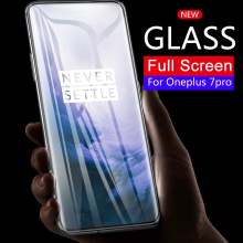 9H Tempered Glass For OnePlus 7 Pro 6 5 6T 5T Screen Protective Glass For Oneplus 1+ 7 Pro 3 3T Precise Hole Position Glass Film