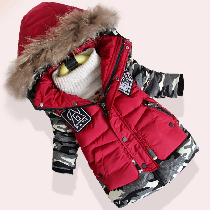 Winter Jacket For Boys Children Warm Clothing Boys Clothes Baby Thick Cotton Down Jacket Cold Winter Outwear Parka Kids Coats tommy hilfiger ремень tommy hilfiger e387893848 615 chilli pepper pt navy blazer htr