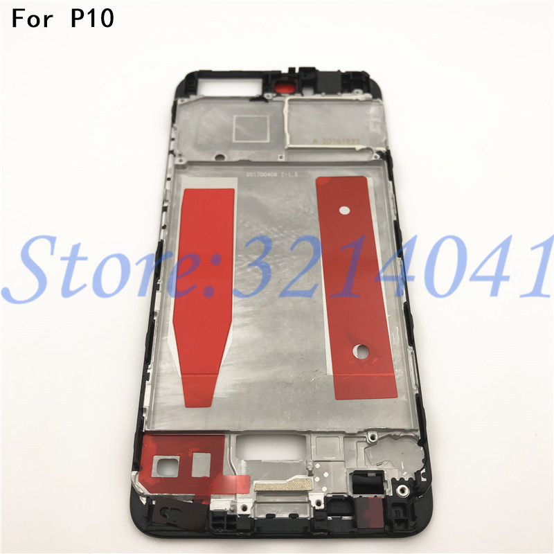 New Original Lcd Front Bezel Frame Mid Middle Housing Plate For Huawei P10 Repair Parts Replacement A62