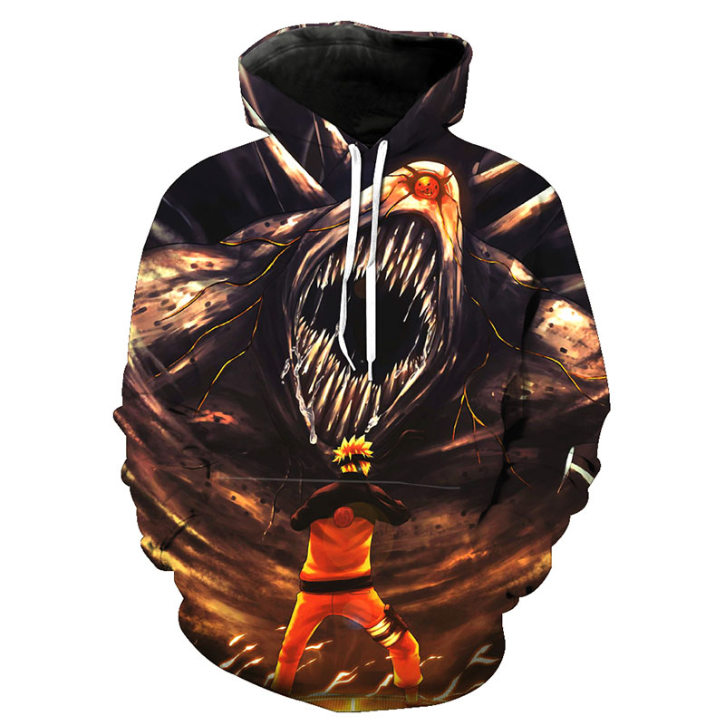 naruto hoodies sweatshirts 3d anime printed graphic harajuku cool hoodie men long sleeve streetwear hooded pullovers Sweat Homme