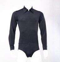Latin dance training exercises shirt with underwear for men