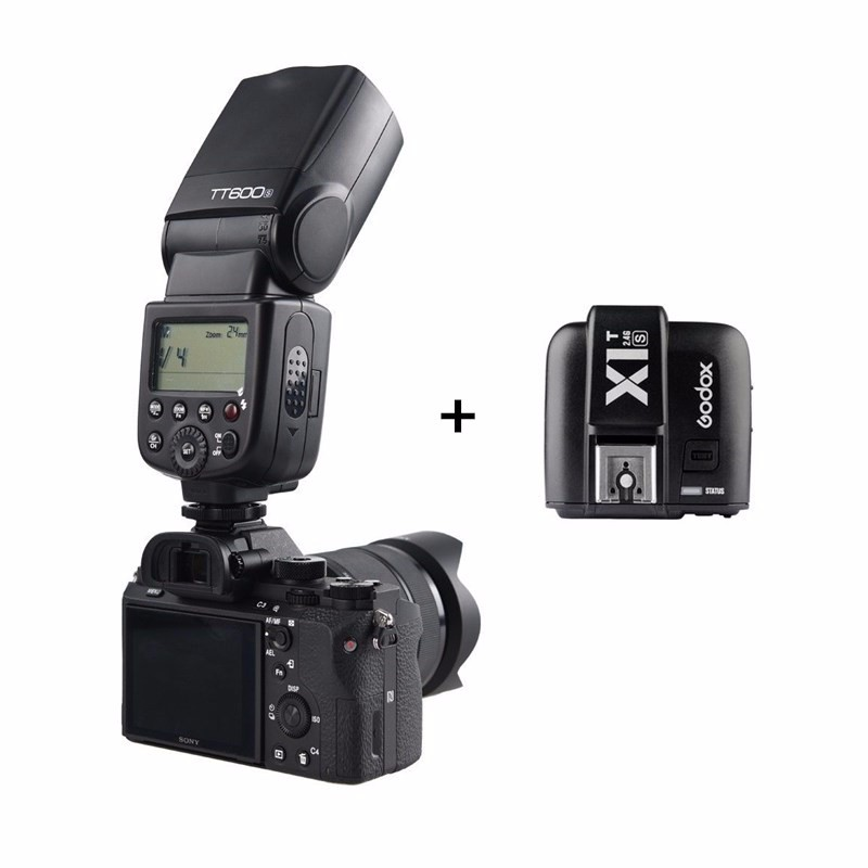 Godox TT600S 2.4G HSS Wireless Flash Speedlite +X1T S Transmitter for Sony Camera