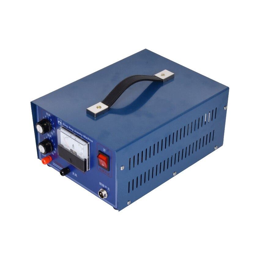 DX-50A 0.5-30A 300W Desktop Laser Spot Welding Hand-held Pulse Spot Welder Welding Machine Necklace Welding Machine 220v / 110v цена
