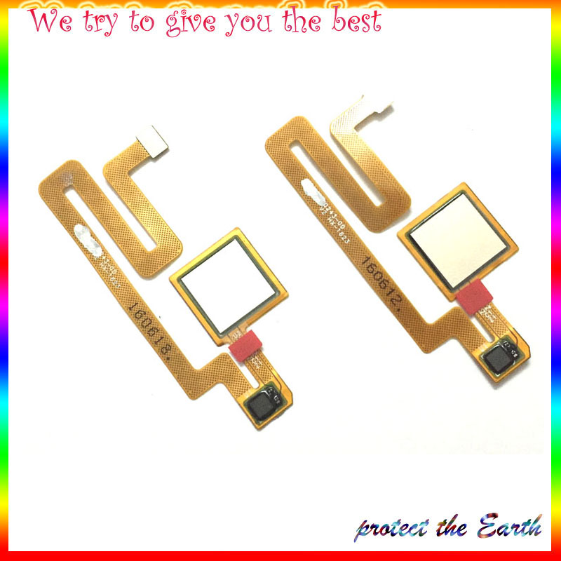 Original New For Xiaomi Max Mi Max Fingerprint Sensor Home Return Key Menu Button Flex Cable Replcement Parts