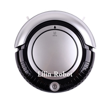 (Moscow Warehouse) LIECTROUX K6L Lowest Price Mini Robot Vacuum Cleaner (Vacuum,Sweep,Mop),2 Side-brushes,Flashing LED Light