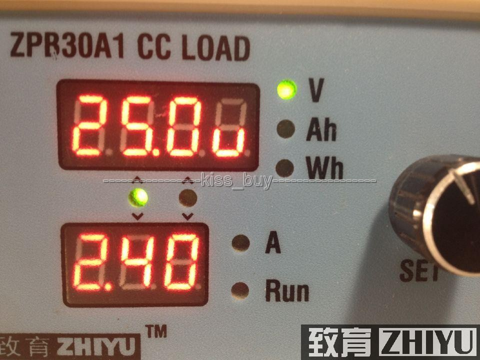 CASE Constant Current Electronic Load 9.99A 60W 30V Battery Capacity Tester