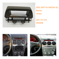 one din Car DVD/CD Radio Stereo Fascia Panel Frame Adaptor Fitting Kit for MAZDA (6), Atenza 2002 2007 ZWA 406