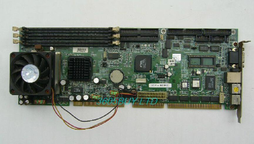 Icp-8601e 100% tested perfect quality Industrial motherboard belt ethernet port