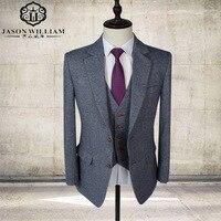 LN05 آخر معطف بانت تصاميم شال صدرية الدعاوى أحمر/أبيض/أسود/أزرق الرجال بذلات الزفاف أفضل رجل سترة سترة + بنطلون + سترة