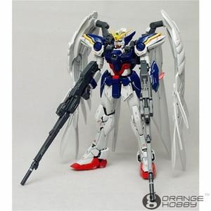 Image 2 - OHS Bandai RG 17 1/144 XXXG 00W0 Wing Gundam Zero EW Mobile Suit Assembly Model Kits  oh