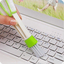 FOURETAW Home Use Type Cleaning Brush Convenient Glass Floor BBQ Toilet Keyboard Cleaner A Good Helper Washing Car Windowsill