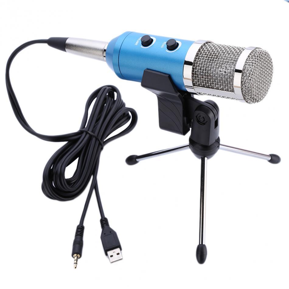 usb condenser reverberation microphone for recording singing broadcasting karaoke with amplifier. Black Bedroom Furniture Sets. Home Design Ideas