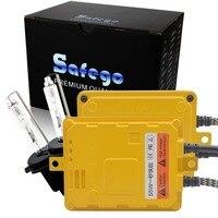 Safego 1 Set 55W Hid Xenon Light Kit H7 H8 H9 H11 9005 Xenon HID Bulbs