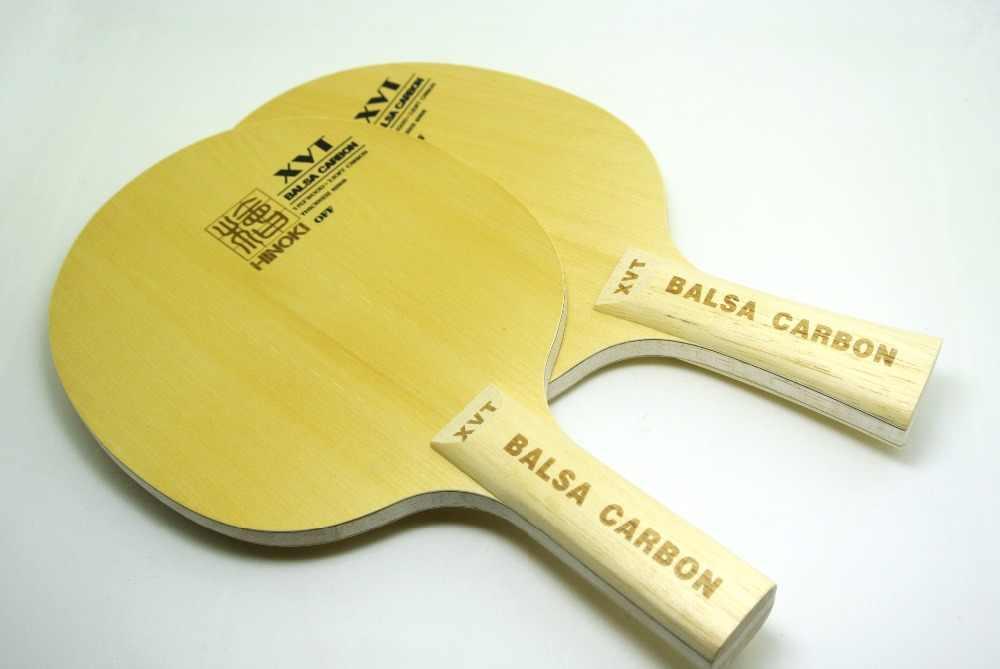 Original Lightest   XVT   BALSA  Carbon   Table Tennis paddle/ Table Tennis Blade  Hinoki Wood+Basla wood   Free Shipping